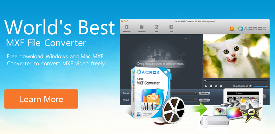 Free download best MXF Converter